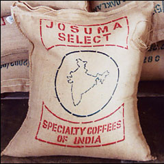 Josuma Select® Logo is printed on all bags of Josuma green coffee.